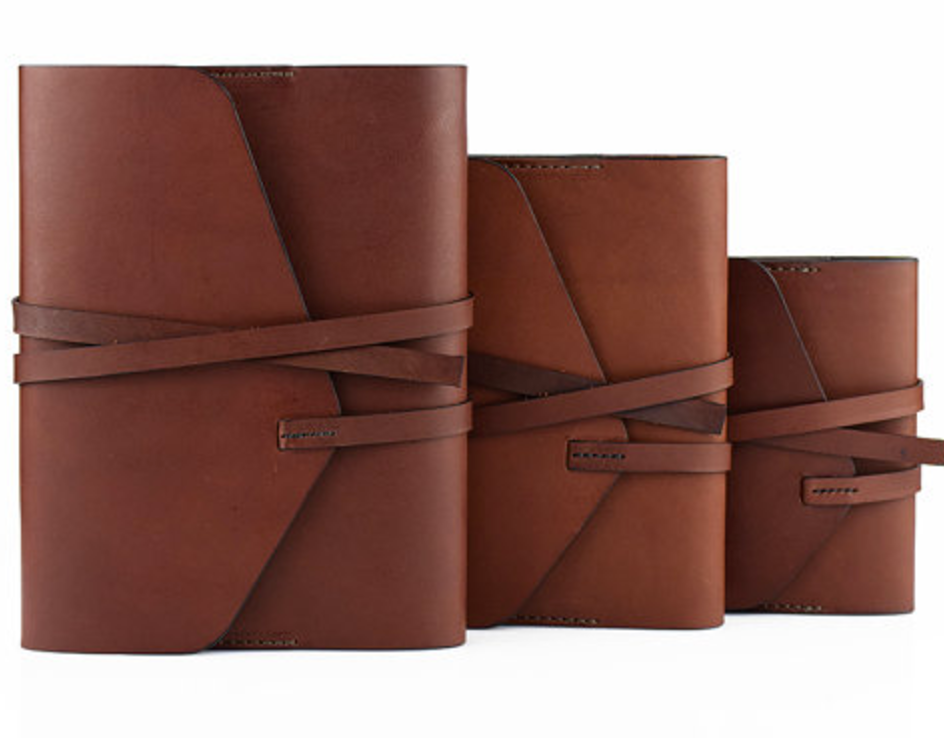 Personalized Leather Journal | Adrian Olemann