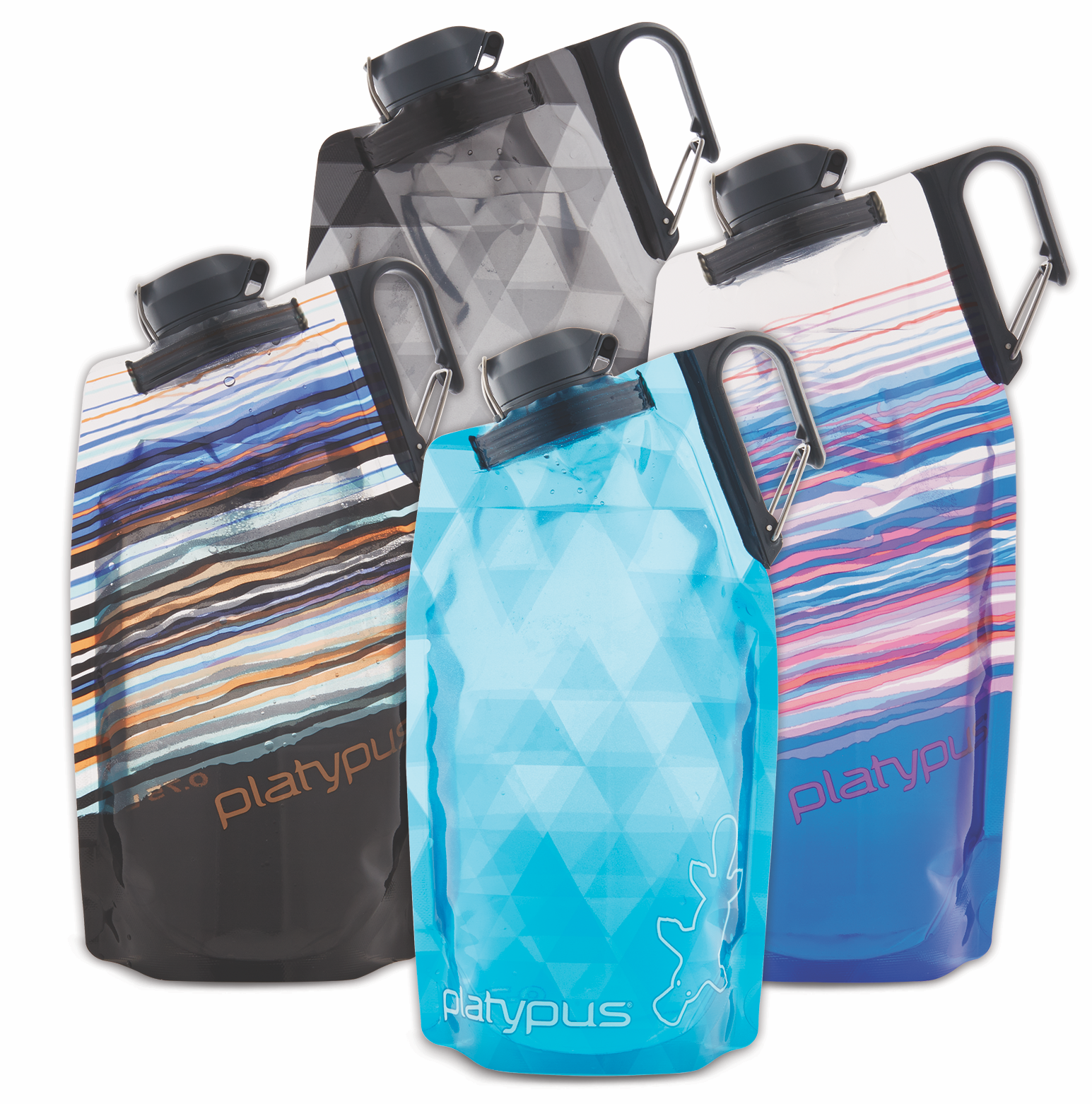 Platypus DuoLock SoftBottle  - $11.95 - $13.95Is this the best stocking stuffer ever? The Platypus DuoLock Softbottle is a flexible water bottle that can easily be stashed in a cupboard, closet, desk, or backpack and then filled and carried for easy use both in the office and on the trail. The best part of these bottles is the DuoLock™, a dual-locking cap for double leak protection so there's no stress about spillage. Plus, the funky patterns makes this sustainably minded gift even more fun to give. BPA-, BPS-, and phthalate-free *and* made in the U.S.A.!