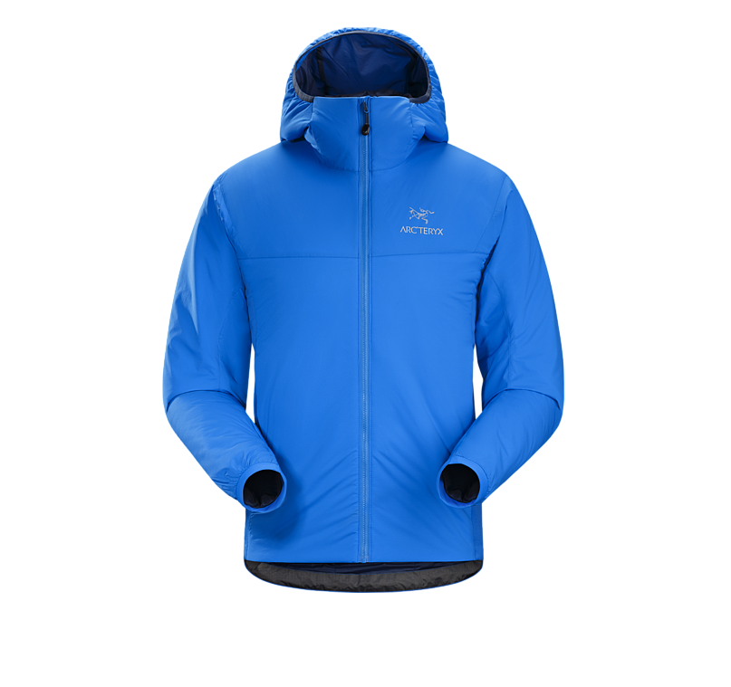Arc'teryx Atom LT Hoody Jacket - $300.00Ready to take your outdoorsy look to the streets? This oh-so-stylin' Arc'teryx mid-layer hoodie will keep you warm both in the wintery wind tunnel of the concrete jungle and on the slopes of your favorite ski resort. The insulated jacket is both warm and extremely comfortable - almost like a sleeping bag with a hood - and is easy to use as a layer when the conditions call for it.