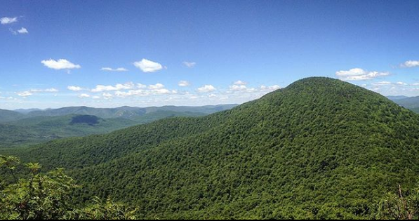A breathtaking view from Blackhead Mountain -- one of the highest and more difficult peaks to summit in the Great Northern Catskills.
