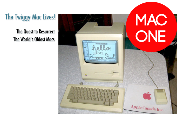 This rare Macintosh 128K prototype with Twiggy floppy disk drive has been lovingly restored to working order.