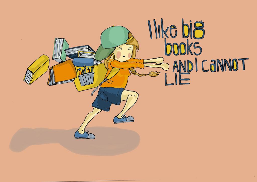 I Like Big Books © Anna Denise Floor