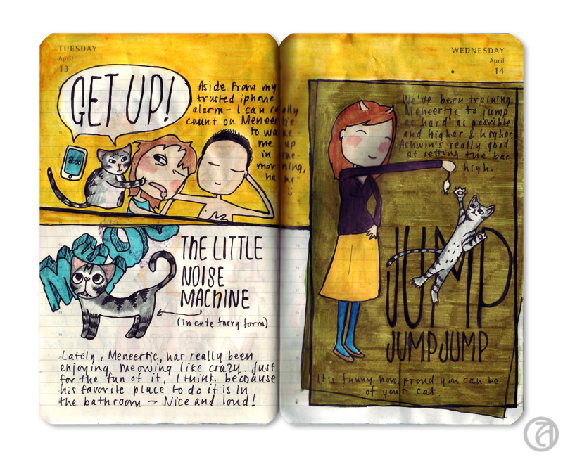 Journal page from 2010 © Anna Denise Floor