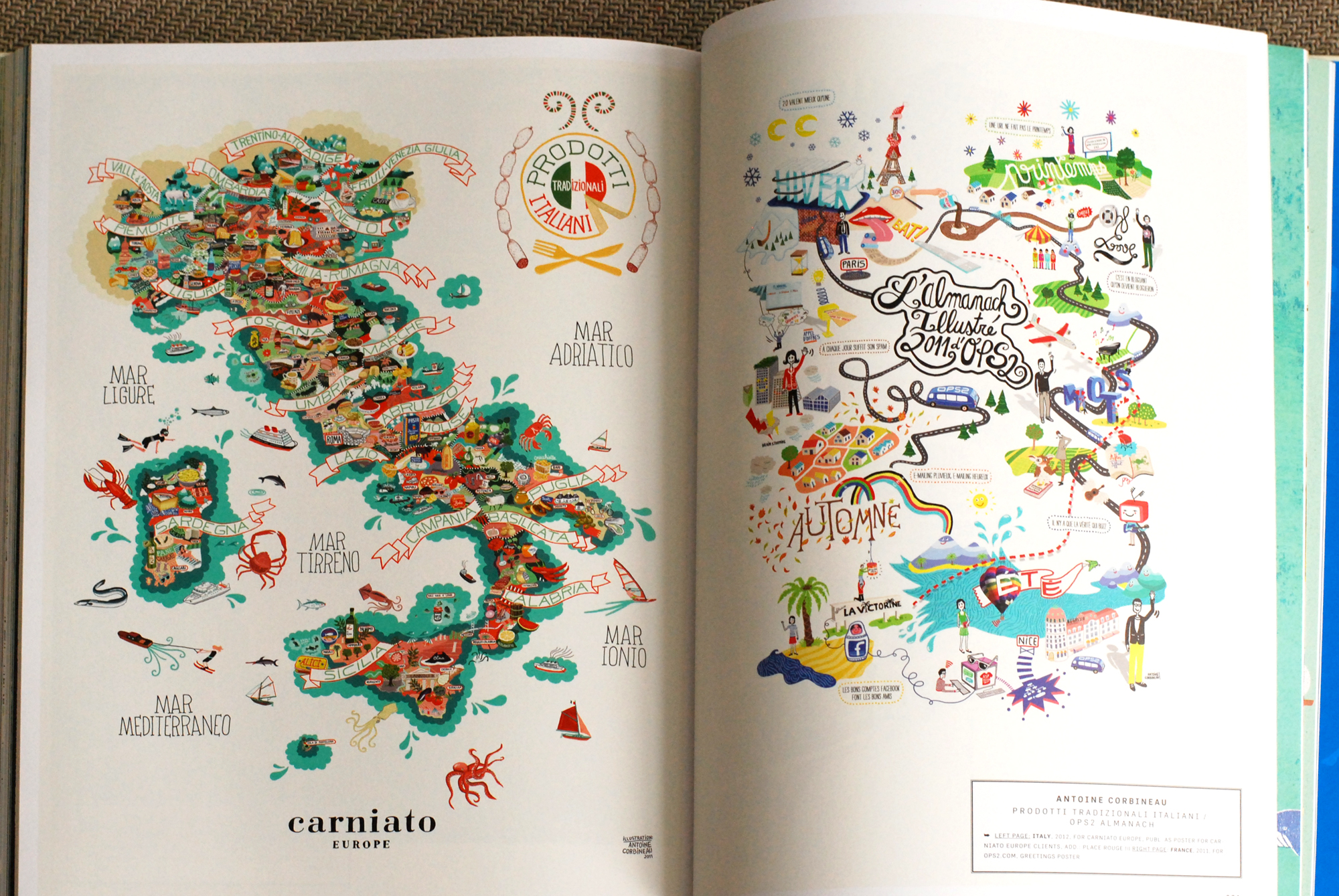 Antoine Corbineau @ A Map of the World