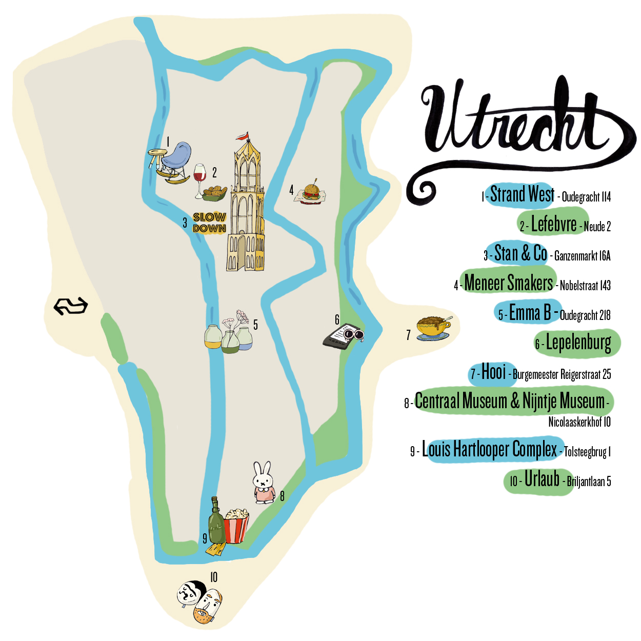 Utrecht city guide © Anna Denise Floot