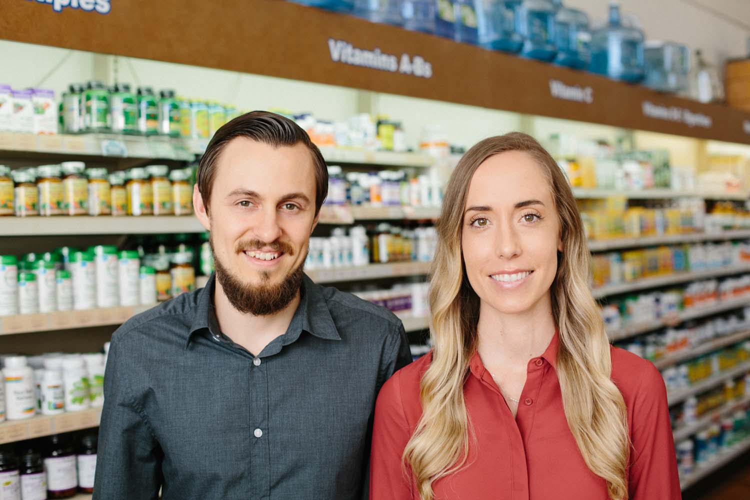 Nate and Whitney Noll, Pacific Health Foods
