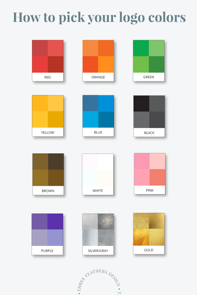 how to pick logo colors