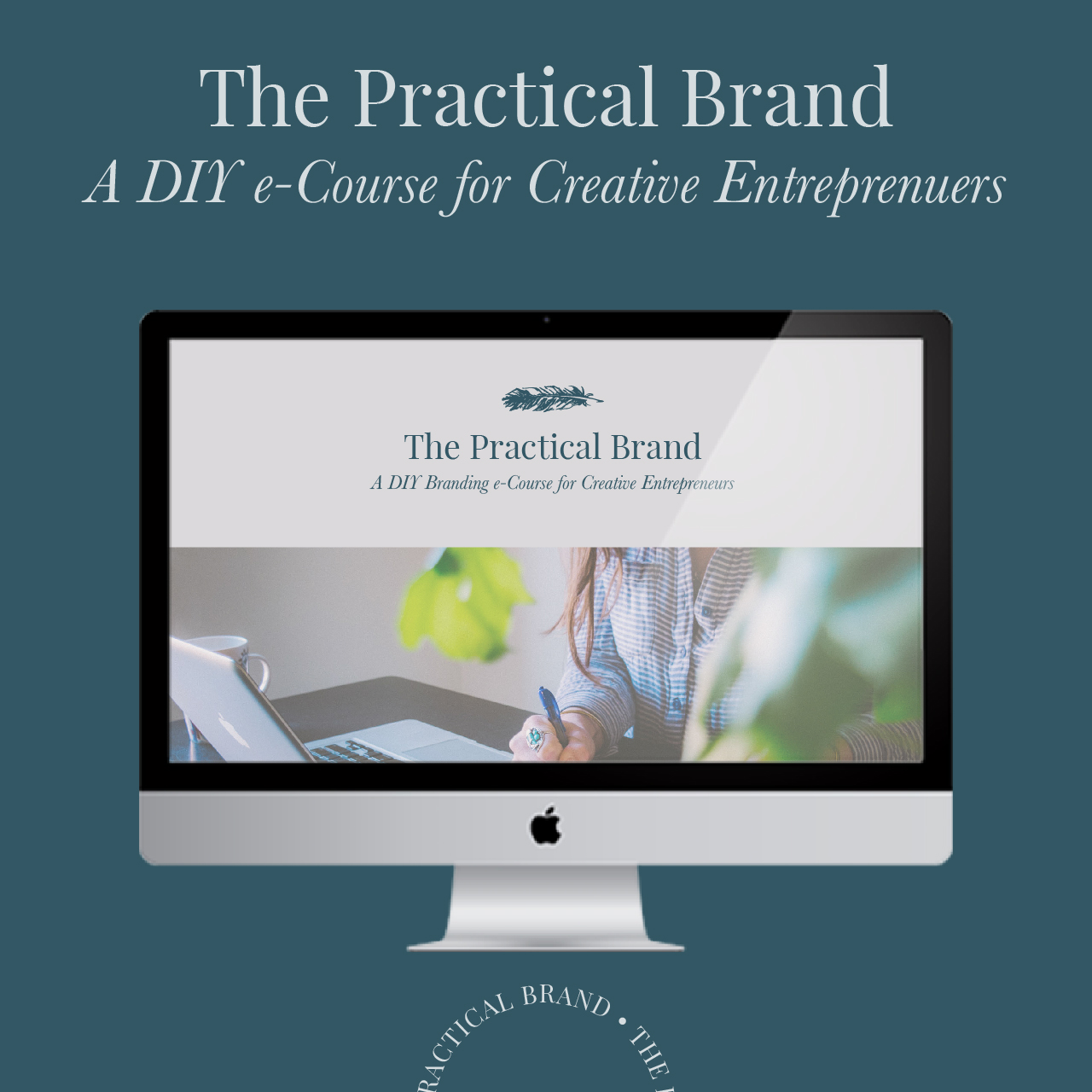 Here's a breakdown of everything that's covered in the course: - Your Brand Feeling, which covers:+ Core Values (includes Worksheet)+ Unique Offer (includes Worksheet)+ Dream Customers (includes Worksheet)+ Position Statement (includes Worksheet)Your Brand Vibe, which covers:+ Colors (includes Worksheet)+ Fonts (includes Worksheet)+ Imagery+ Logo