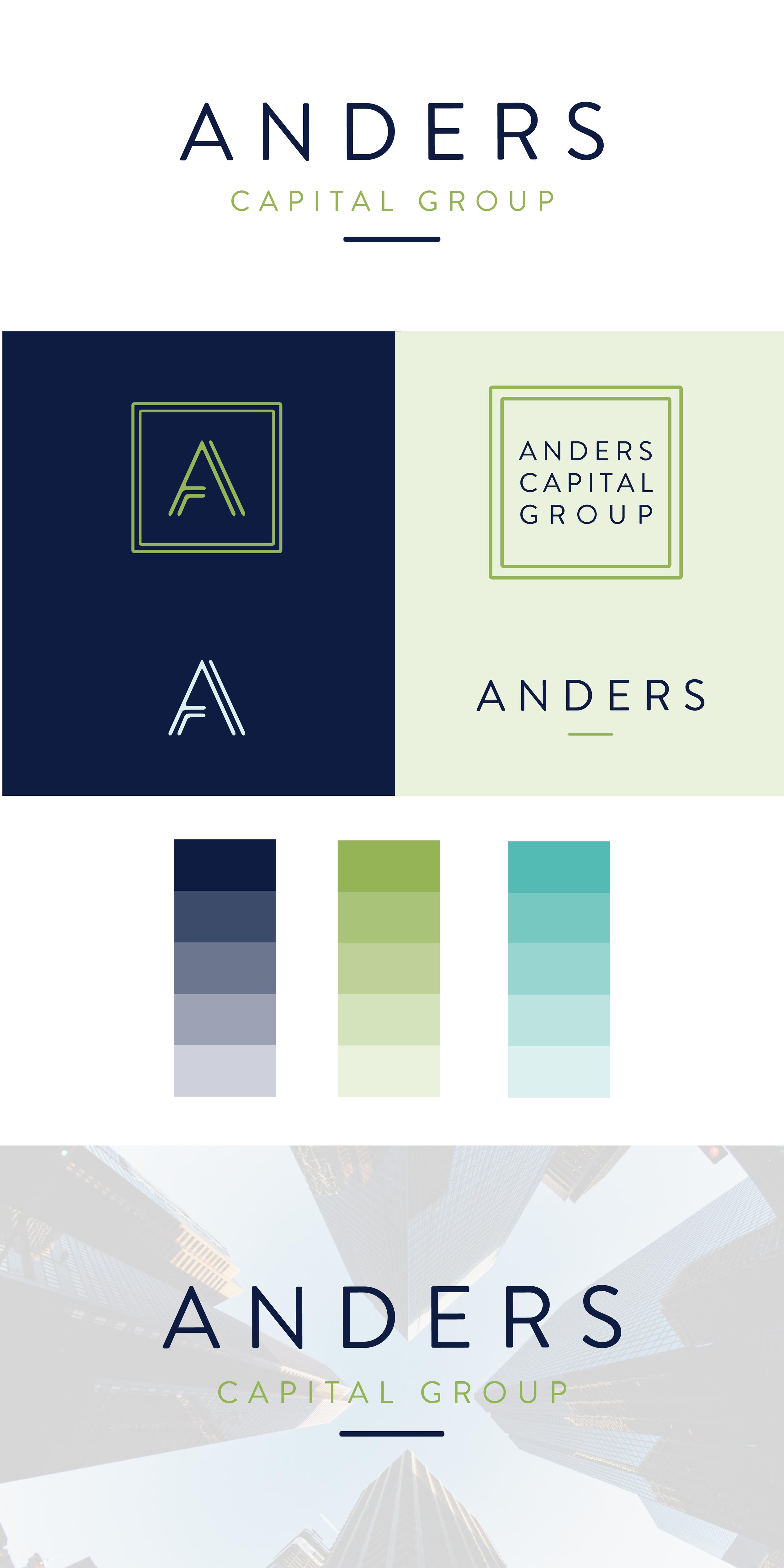 financial firm branding design