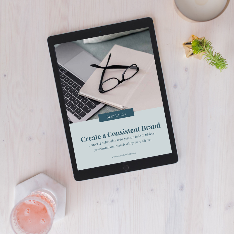 Brand Audit - This PDF booklet covers everything you need to get started with auditing your brand so that you start converting more leads into paying customers.$27