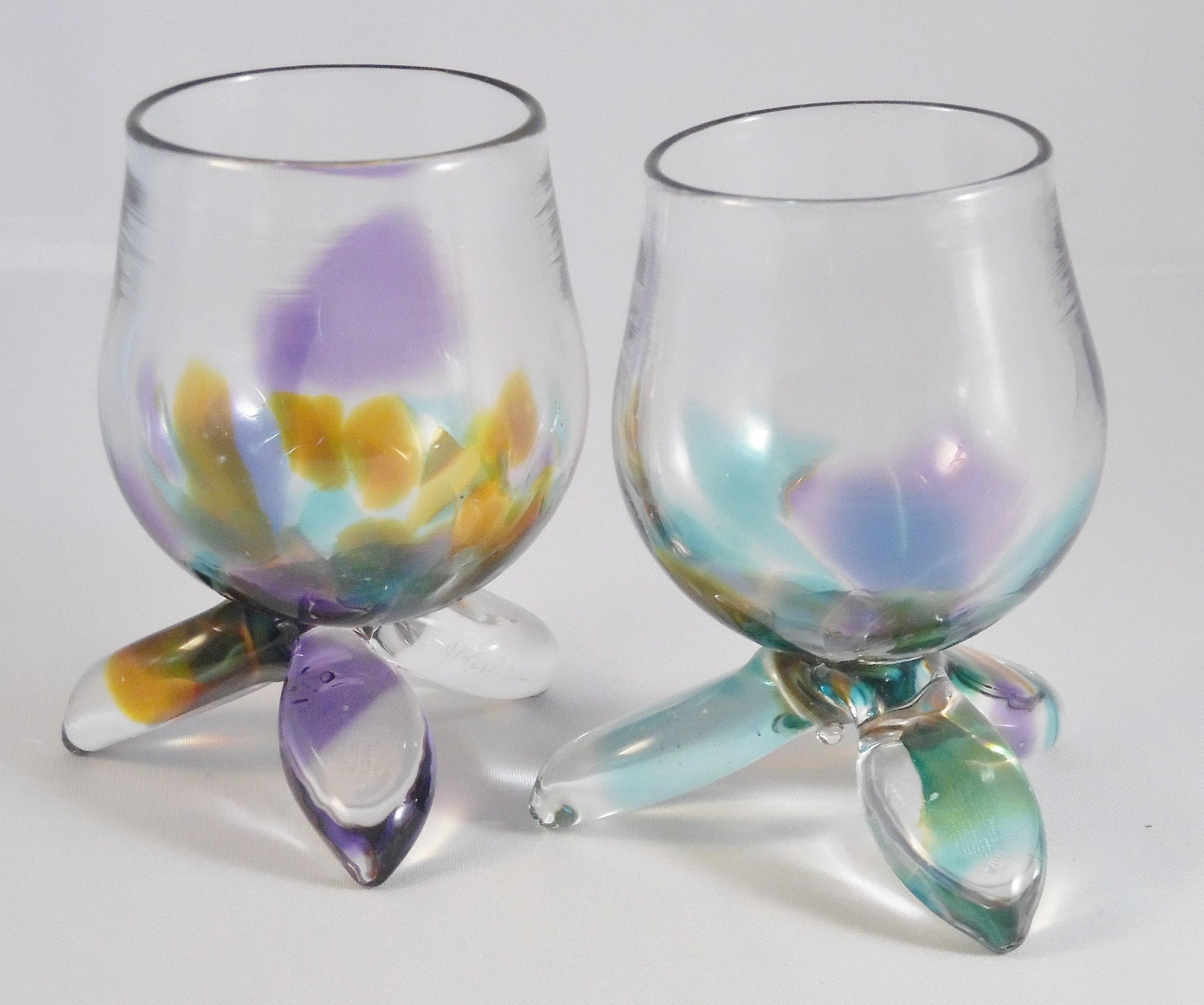 Ice Wine/Liqueur Glasses by Nicole Tremblay