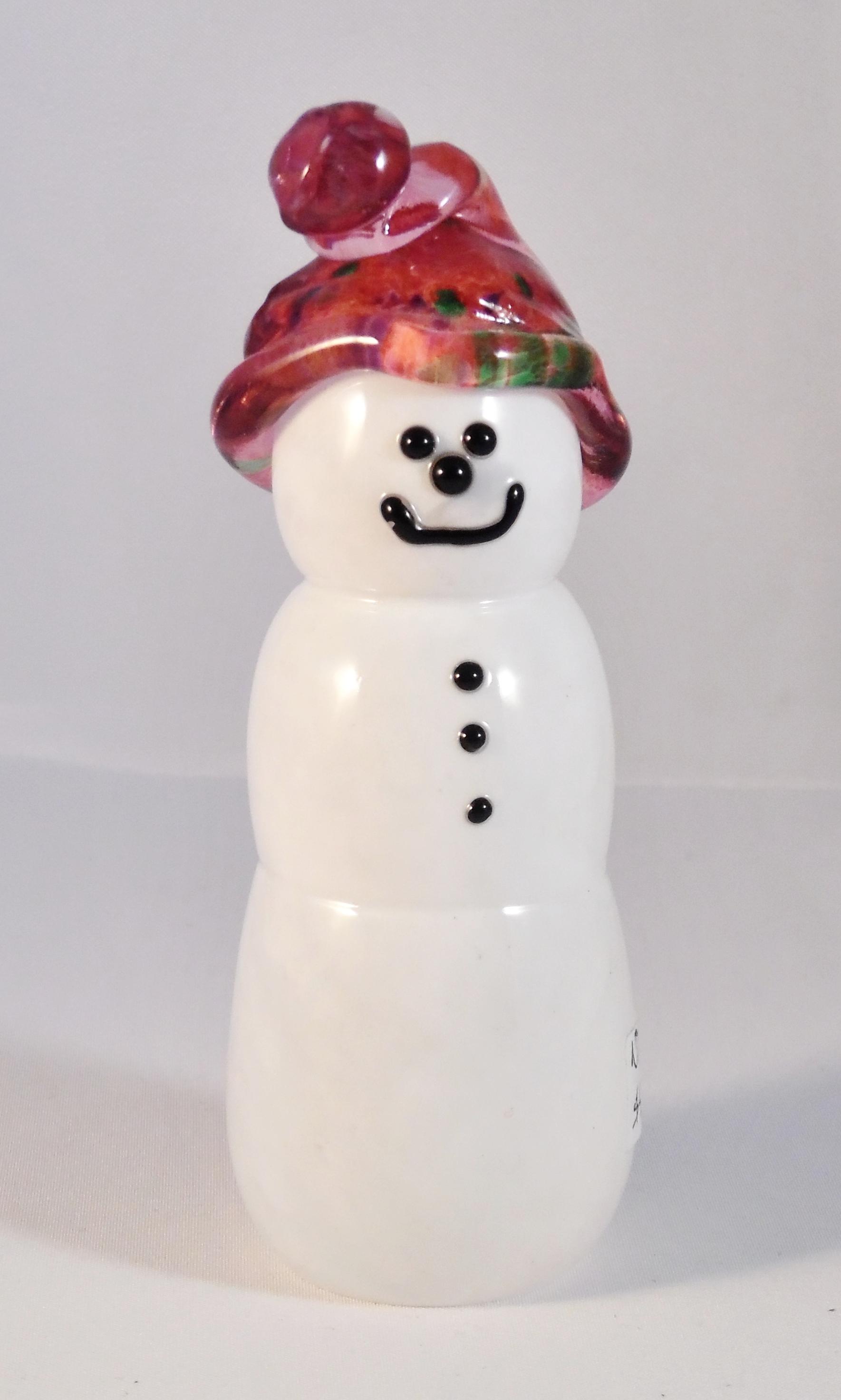 Snowman by Nicole Tremblay