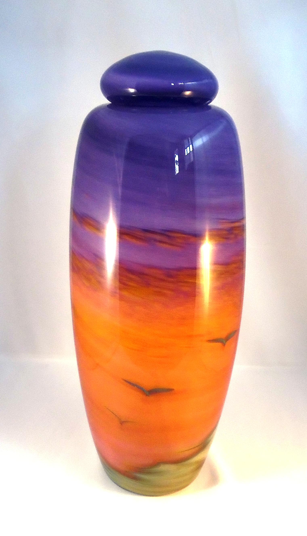Dawn Urn by Nicole Tremblay