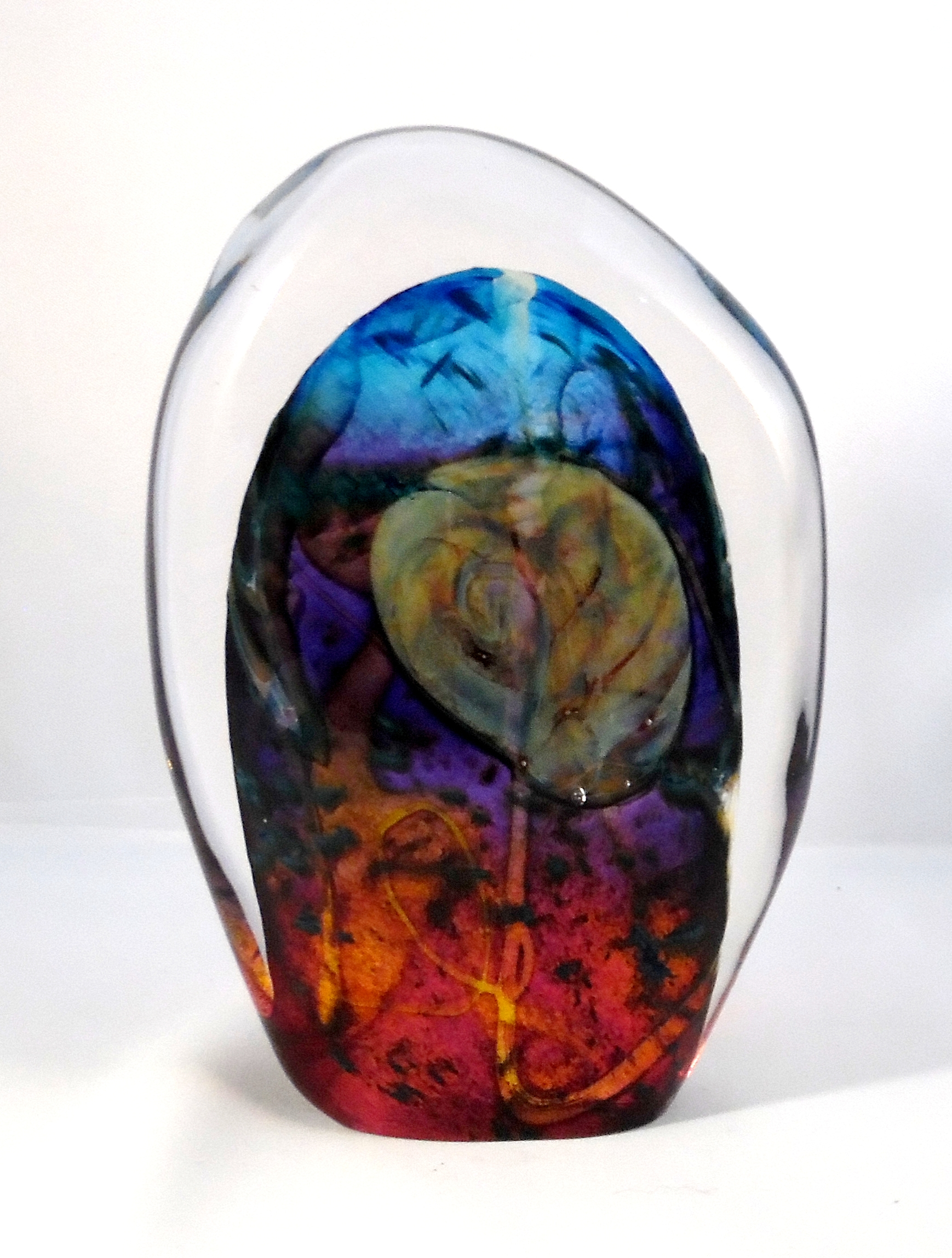 Amonite Stone by Nicole Tremblay