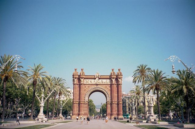 Barcelona on film