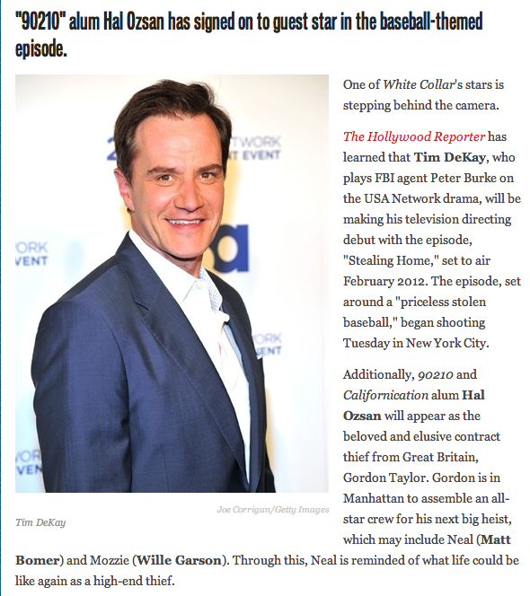 Hal Ozsan in Hollywood Reporter