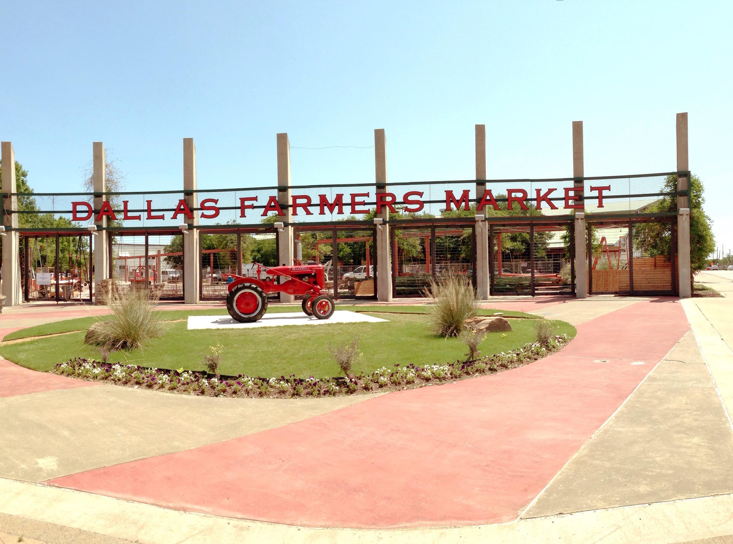 Dallas Farmers Market - April 2015