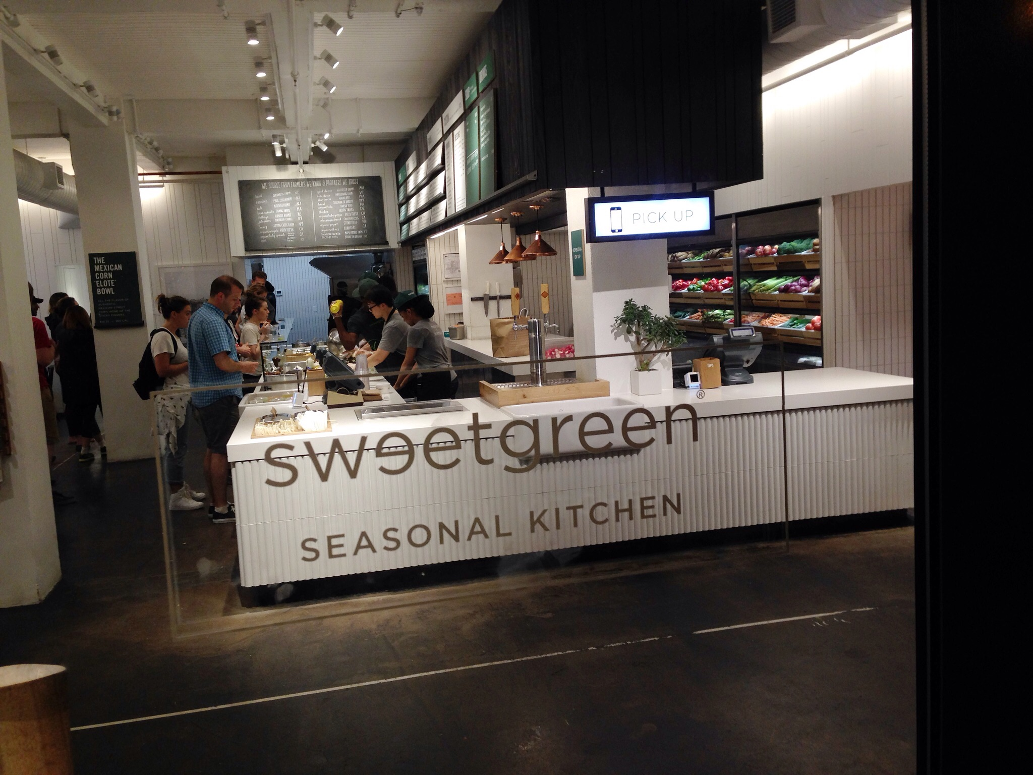 SweetGreen in NYC