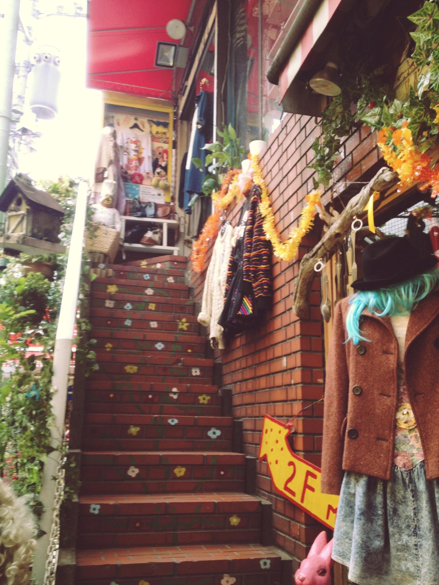 Cute vintage store in Harajuku