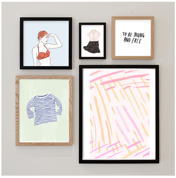 Vote for these designs here:  The Pink Dance /  Young and Free /  The Outfit /  The Striped Shirt /  Beside the Sea