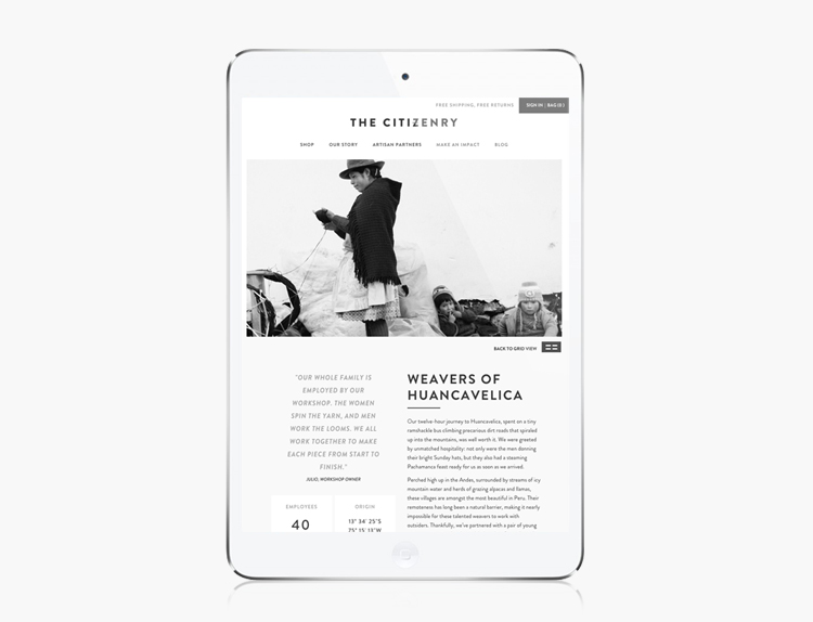Veda House | Responsive Website Design for   The Citizenry