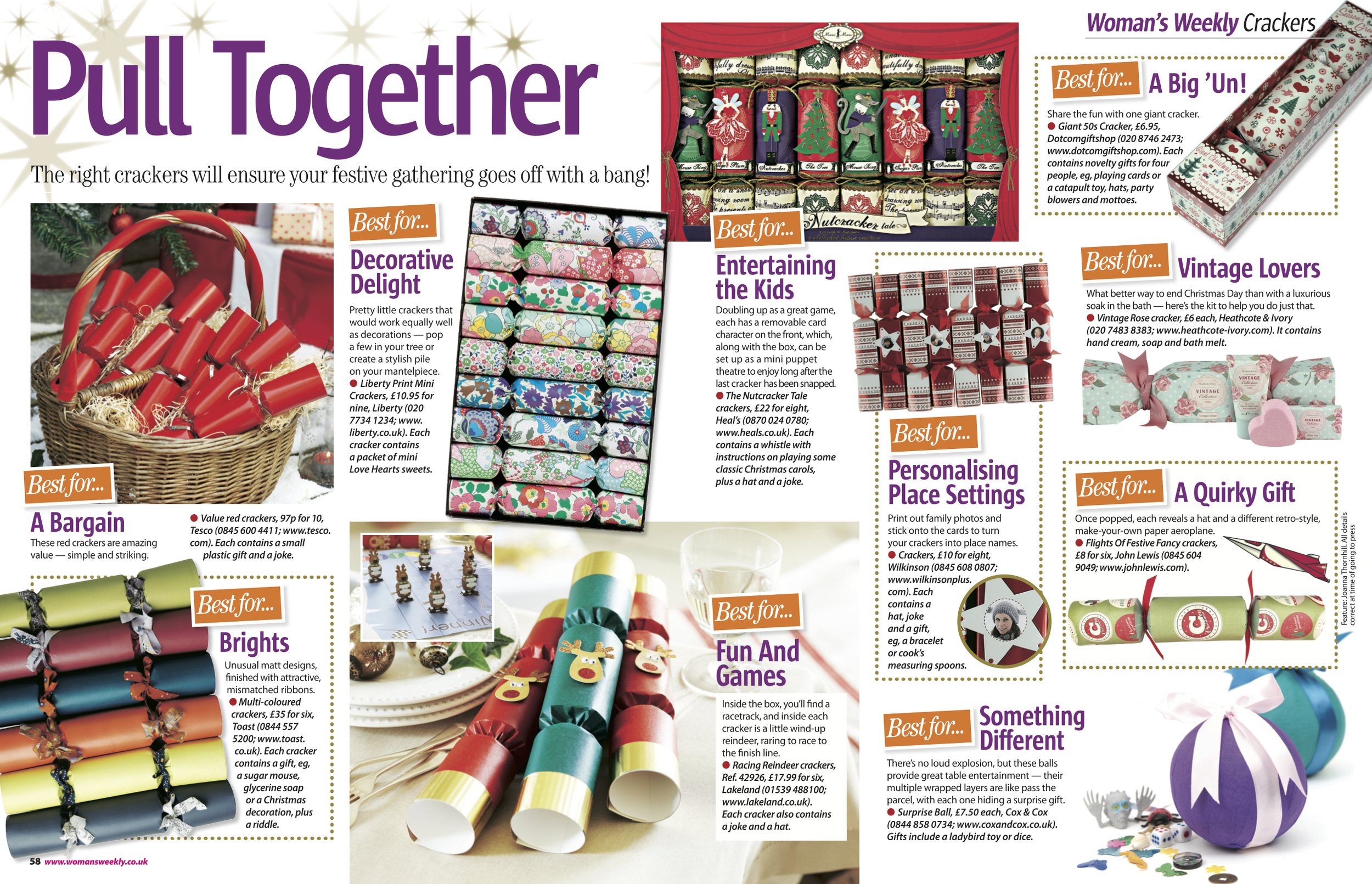 5. Woman's Weekly magazine Pull Together Christmas Crackers feature by Interior Stylist Joanna Thornhill.jpg