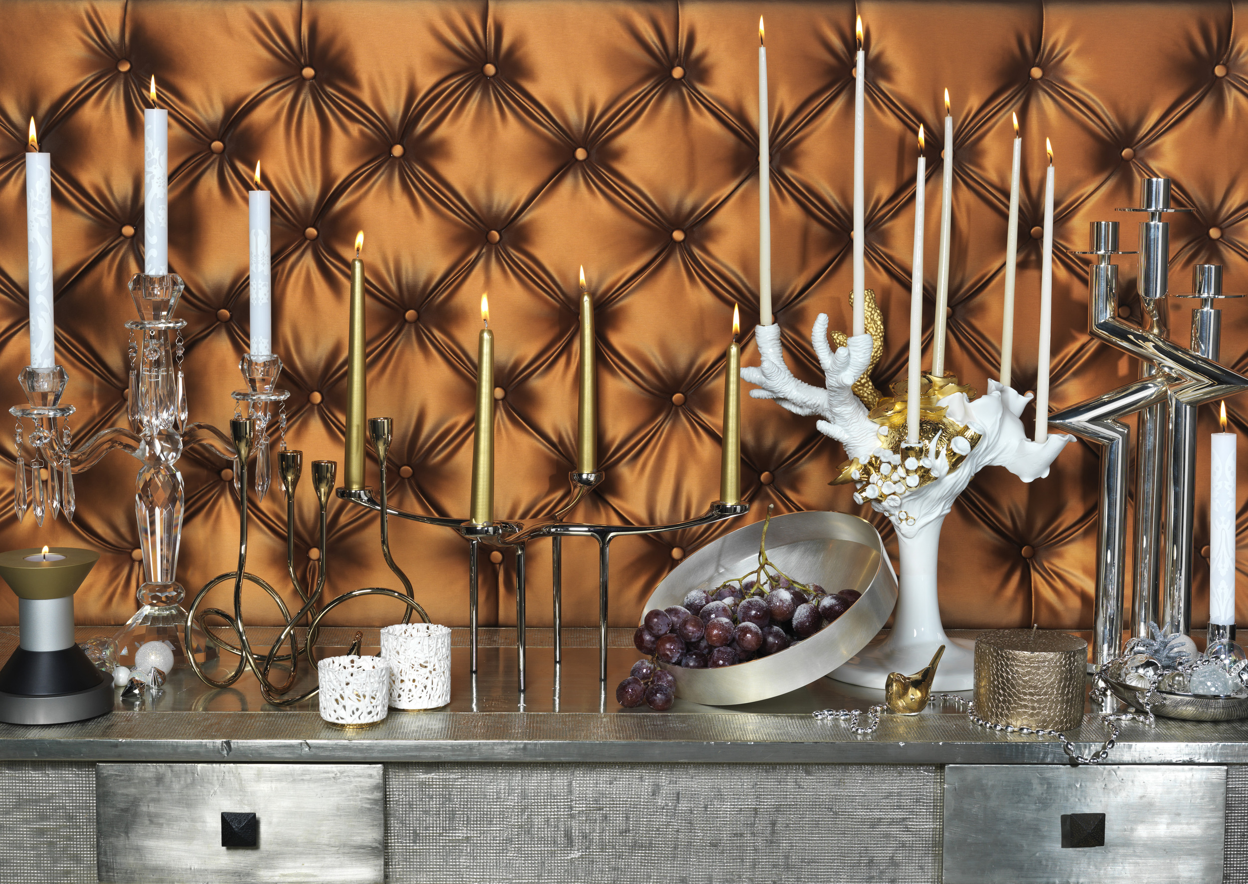 7. Essential Kitchens, Bedrooms and Bathrooms magazine Christmas Candelabras shot by Interior Stylist Joanna Thornhill.jpg