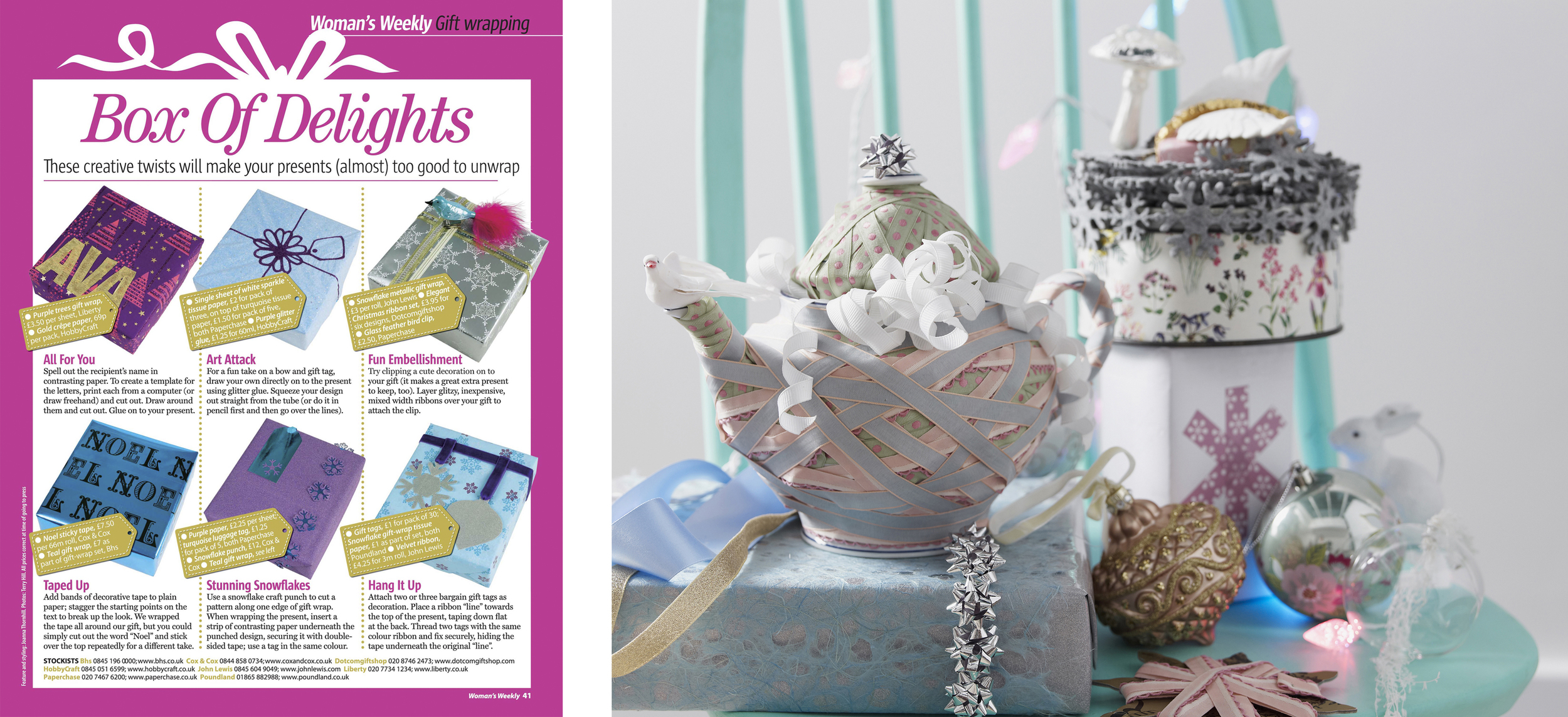 18b. Heart Home magazine Wrapped Gifts Pastel Christmas Tree by Interior Stylist Joanna Thornhill copy.jpg