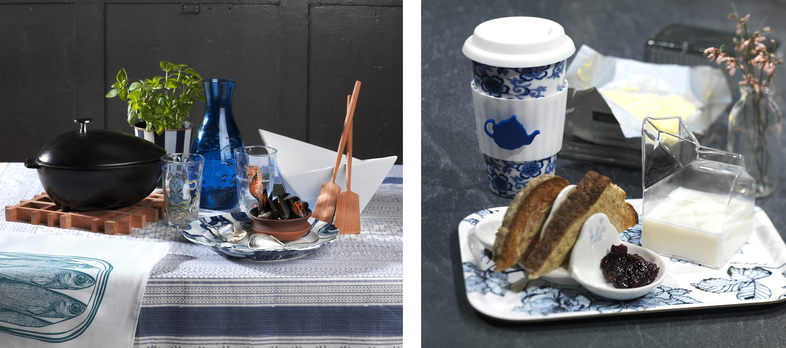 9b. Essential Kitchens, Bedrooms and Bathrooms magazine Breakfast Takeaway and Toast shot by Interior Stylist Joanna Thornhill.jpg