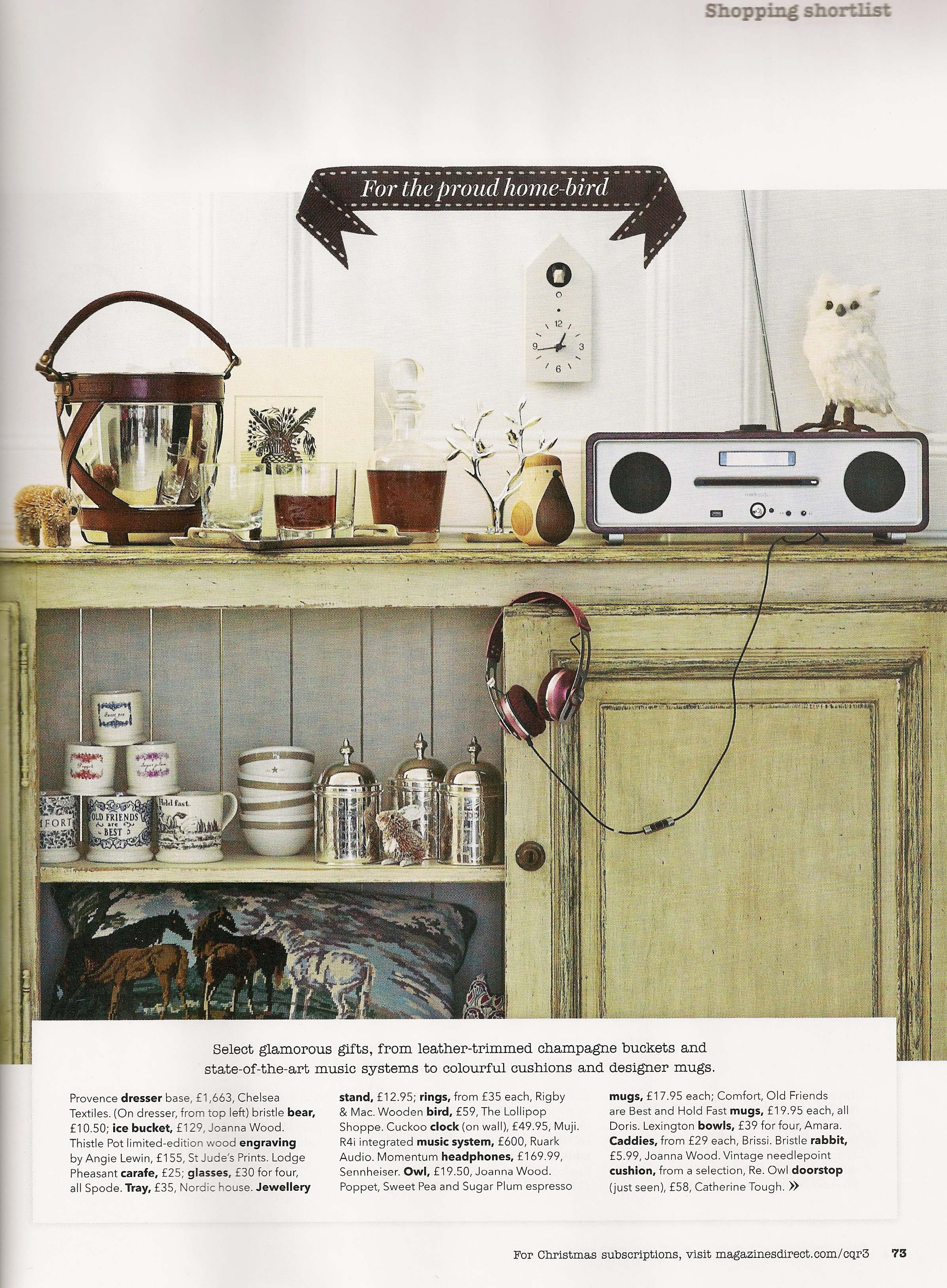 Country Homes & Interiors Christmas Gift Guide 2013 p2 by Joanna Thornhill.jpeg