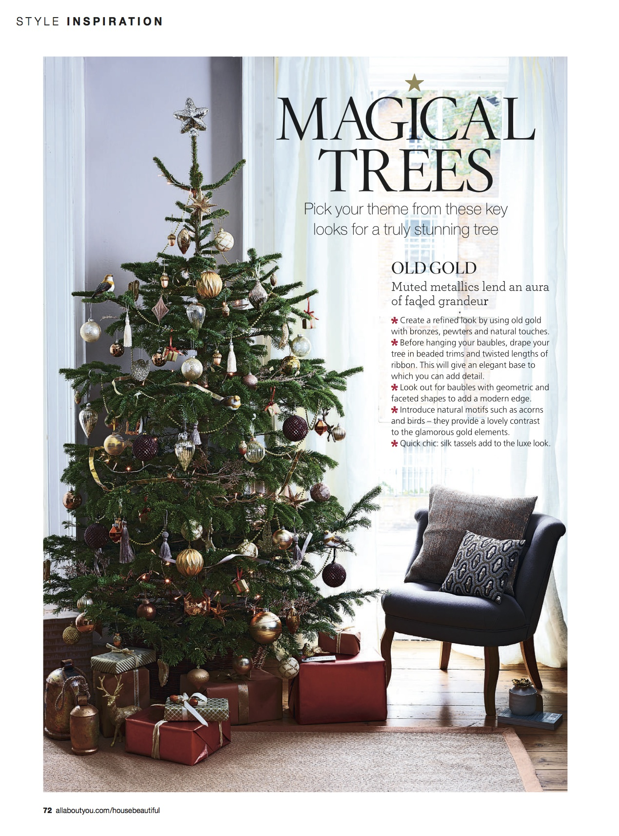 House Beautiful Magical Trees P1 Old Gold PDF by Joanna Thornhill.jpg