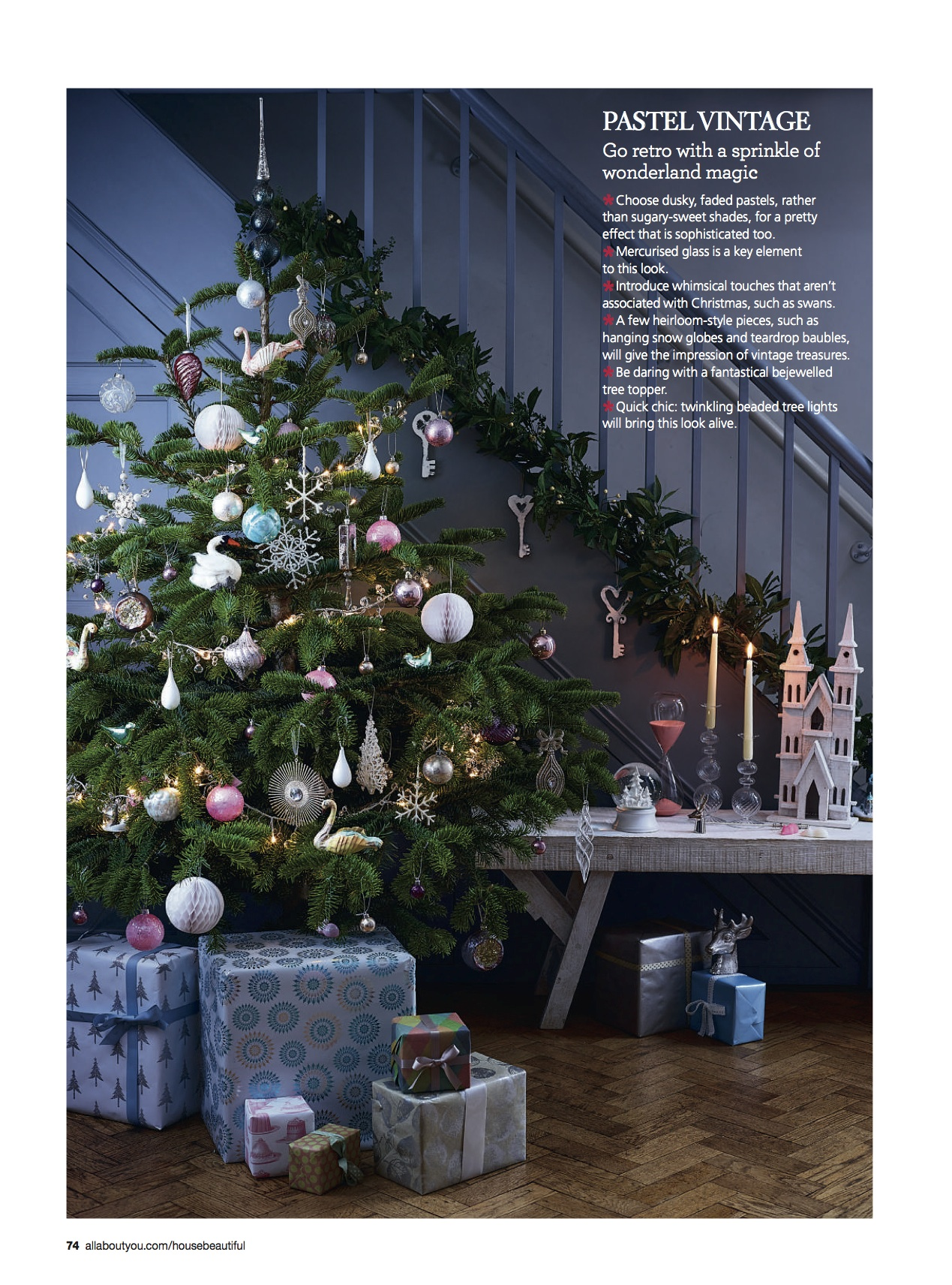 House Beautiful - Christmas Decorating Trends 2013 — Joanna ...