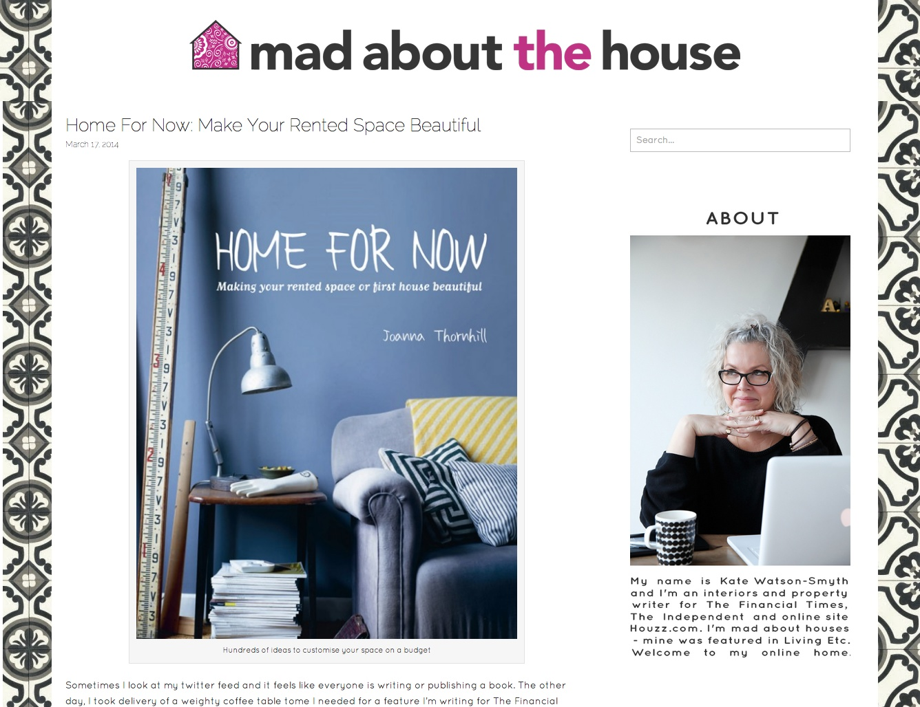 Mad about the House features Home for Now by Joanna Thornhill.jpg