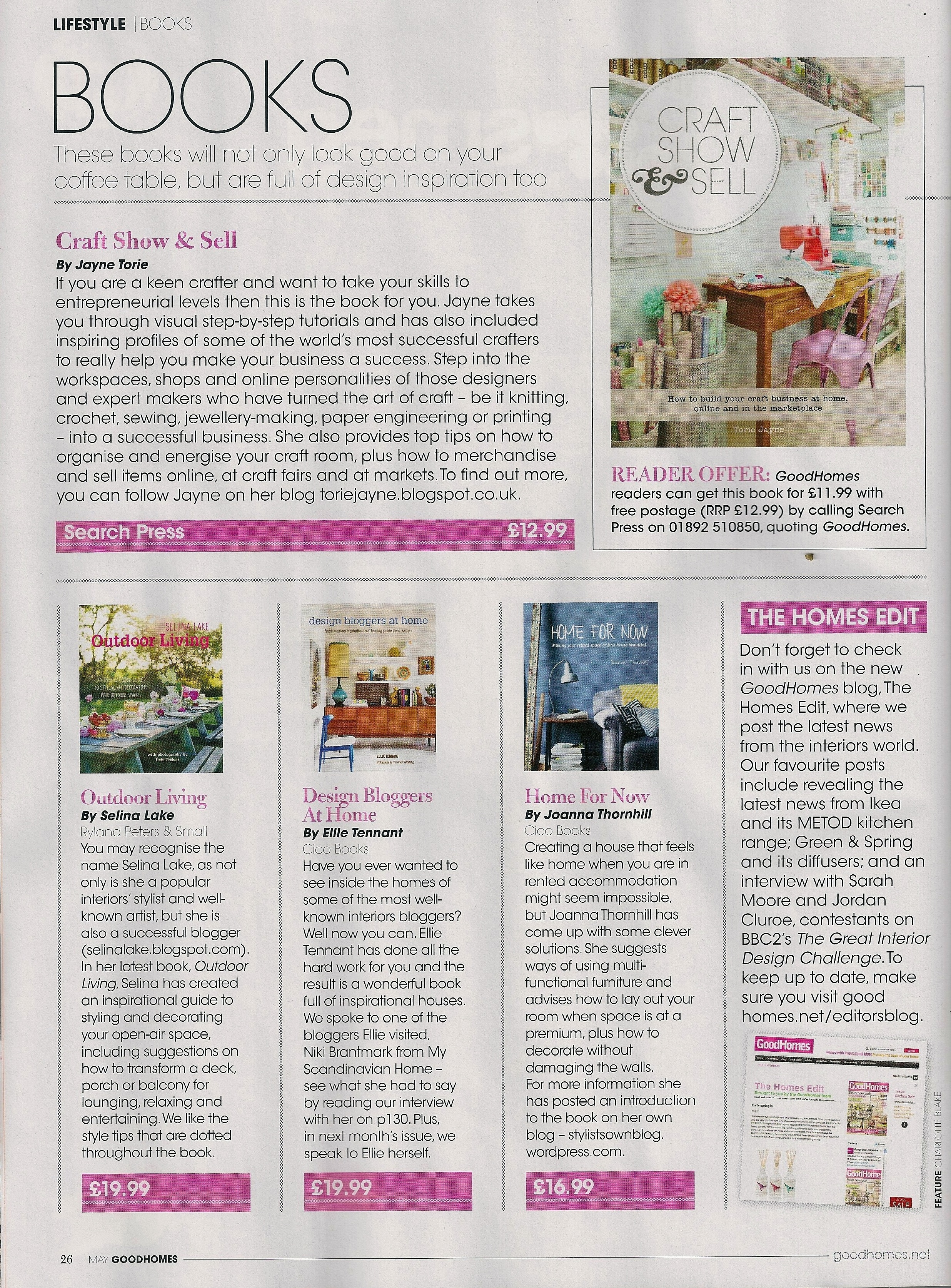 Good Homes Book Review page Home for Now by Joanna Thornhill.jpg