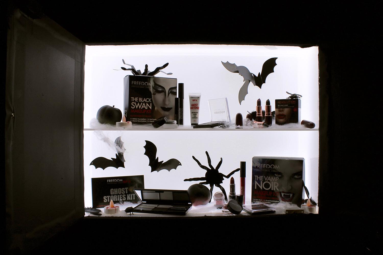 Superdrug Halloween 2016 Black Swan Vignette Joanna Thornhill