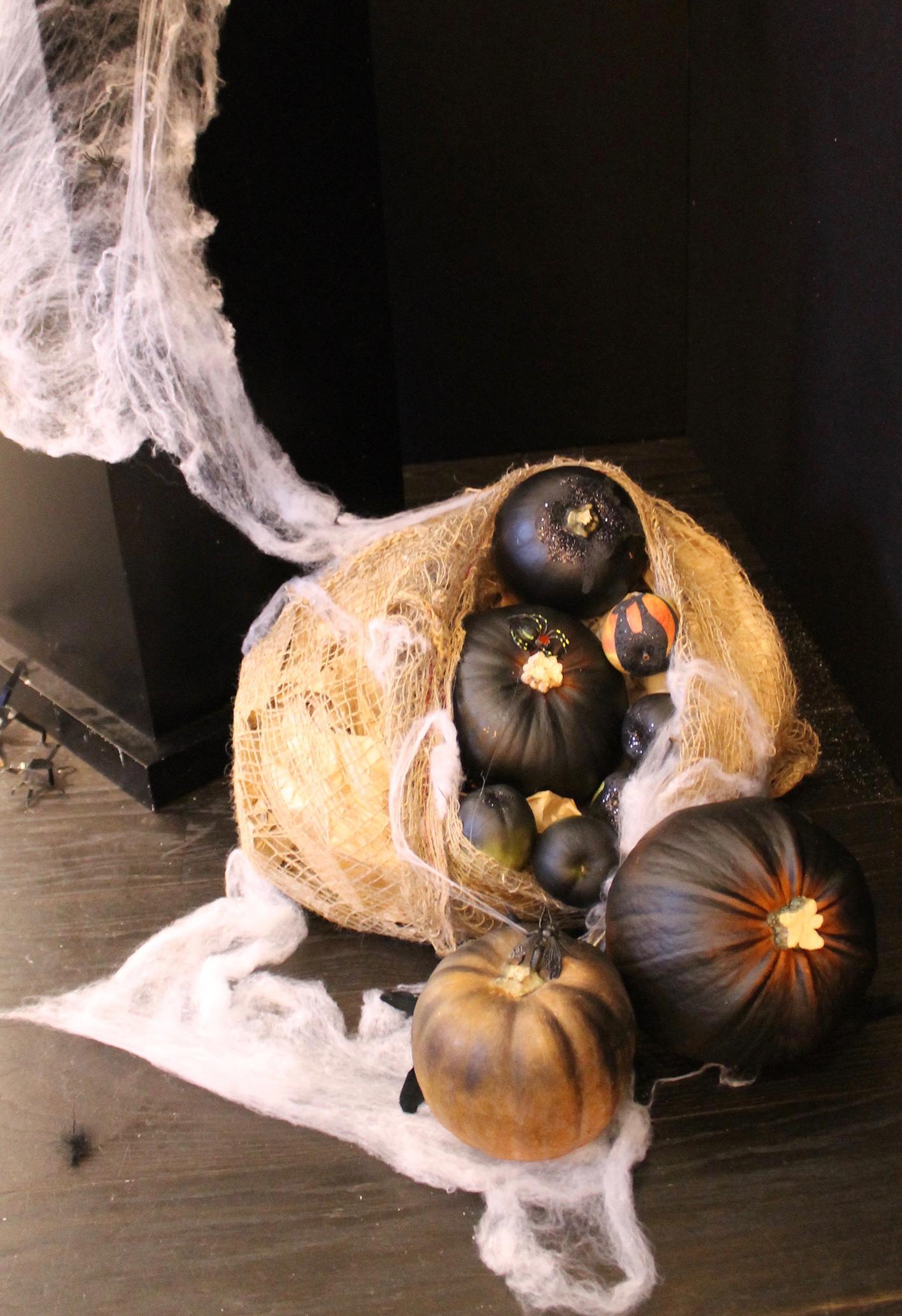 Superdrug Halloween 2016 Pumpkins in Sack Joanna Thornhill