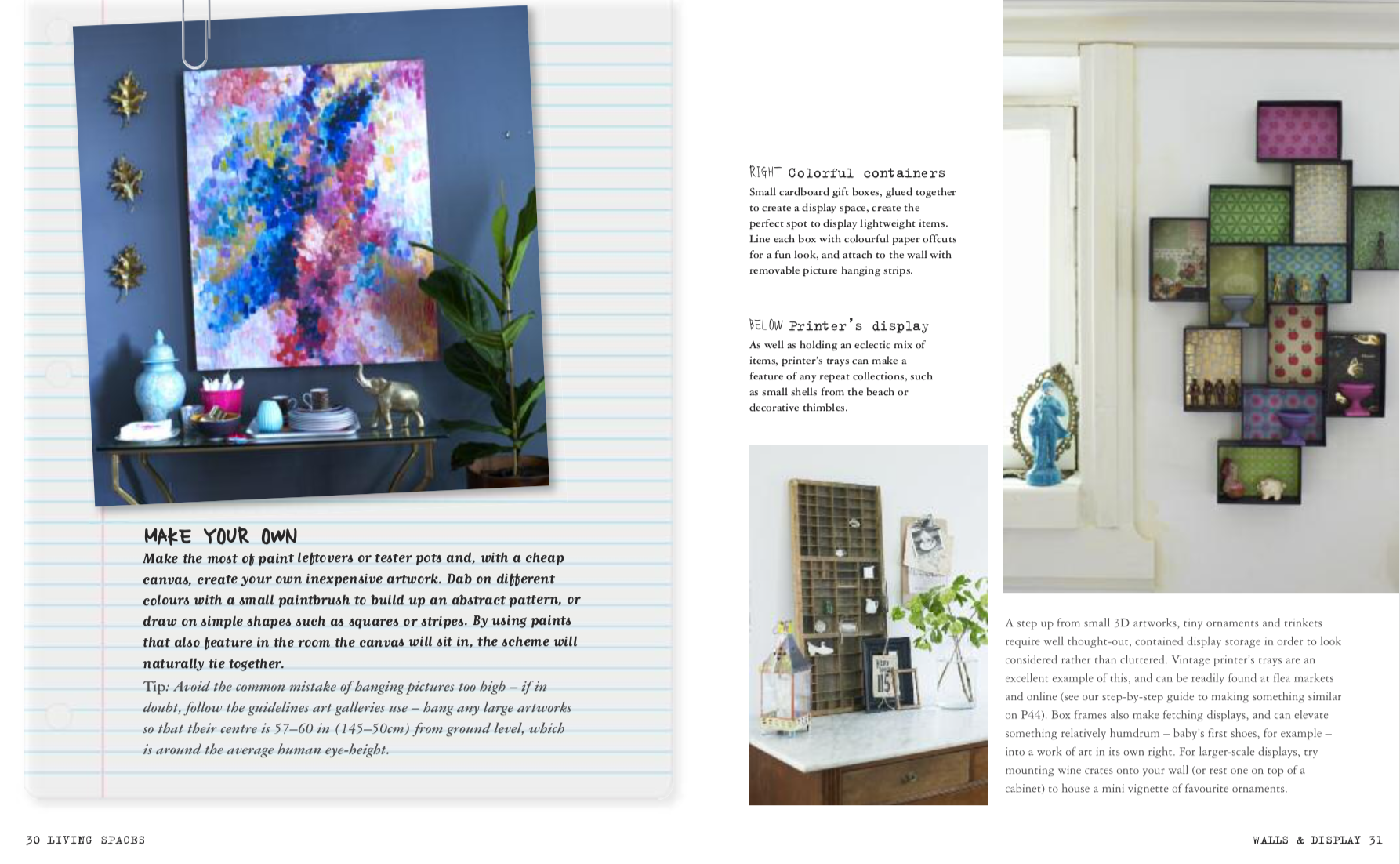 Insta Style for Your Living Space by Joanna Thornhill P30-31