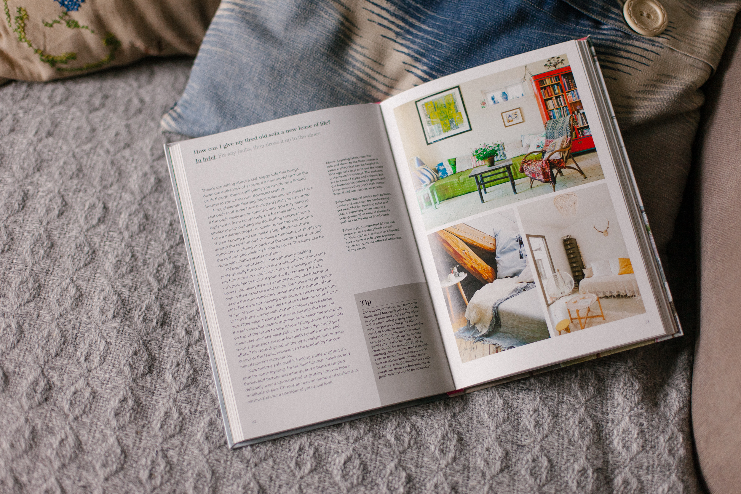 My Bedroom is an Office by Joanna Thornhill p62-63 lifestyle Give Sofa a New Lease of Life v2