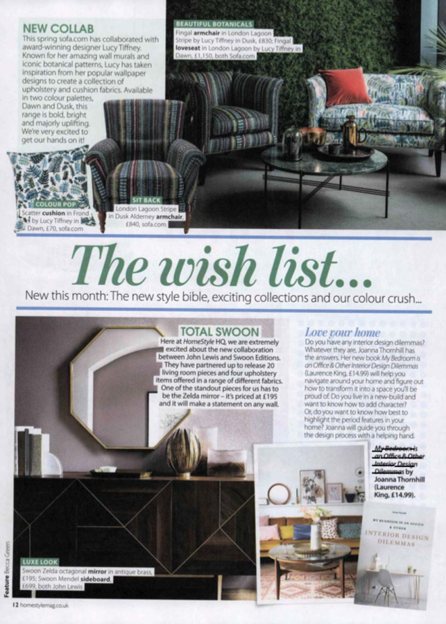 HomeStyle Magazine April19 issue featuring My Bedroom is an Office by Joanna Thornhill.png