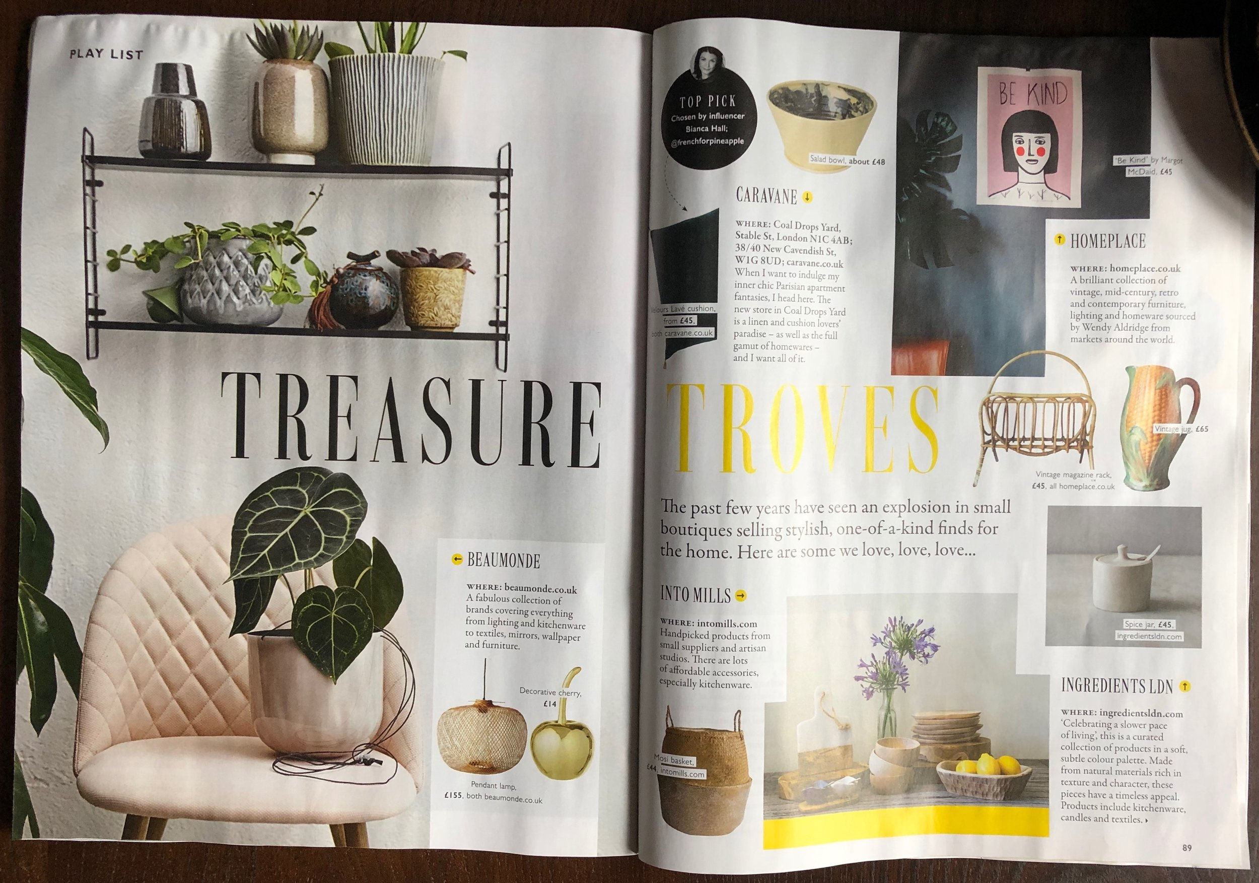 Grazia Treasure Troves feature 11th Feb19. P1-2.jpeg