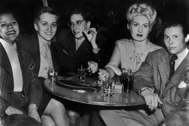 1940s lesbian bar scene