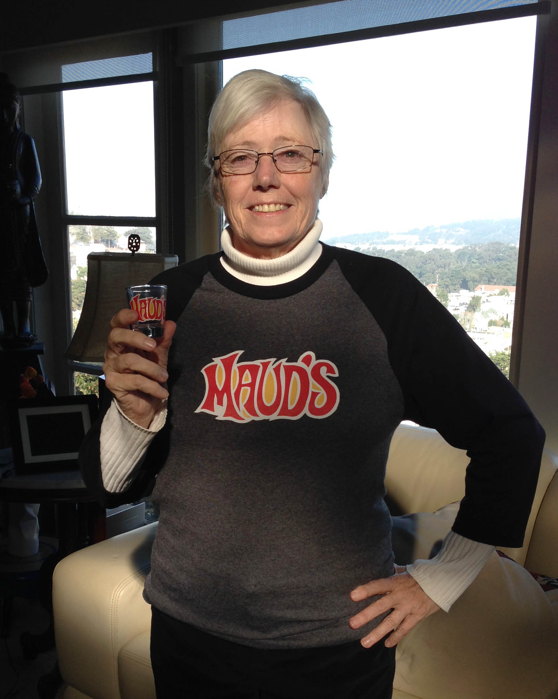Mary Sager luvs, luvs, luvs her SMALL jersey...Cheers!