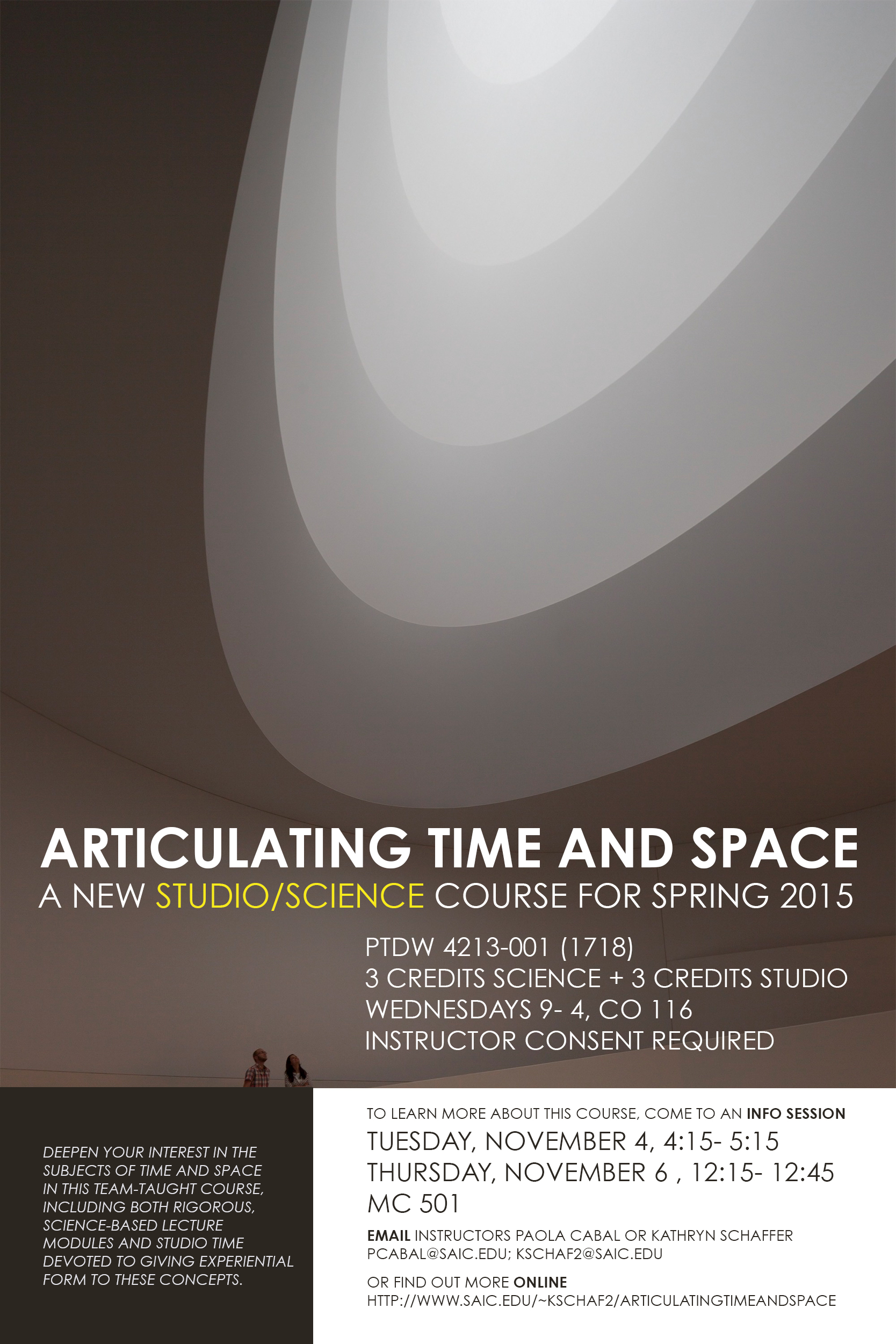 the poster for our course