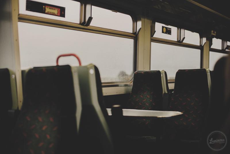 A caminho de Edimburgo. ||  On our way to Edinburgh.