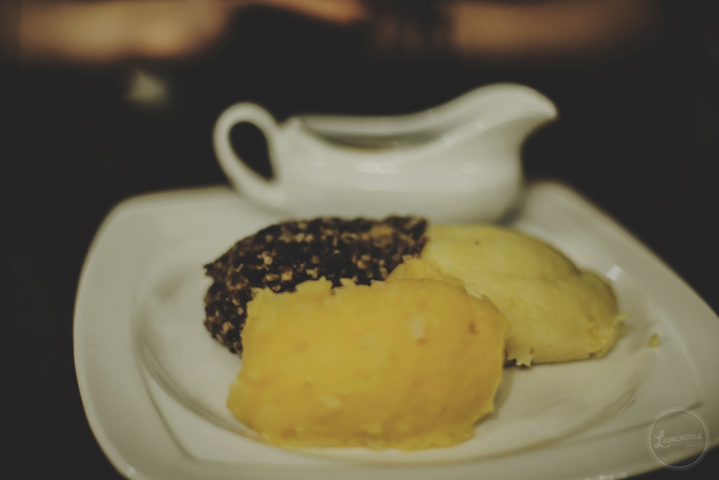 A última foto, a comer Haggis, finalmente! É fantástico! ||  The last photo, finally eating Haggis! It's fantastic!