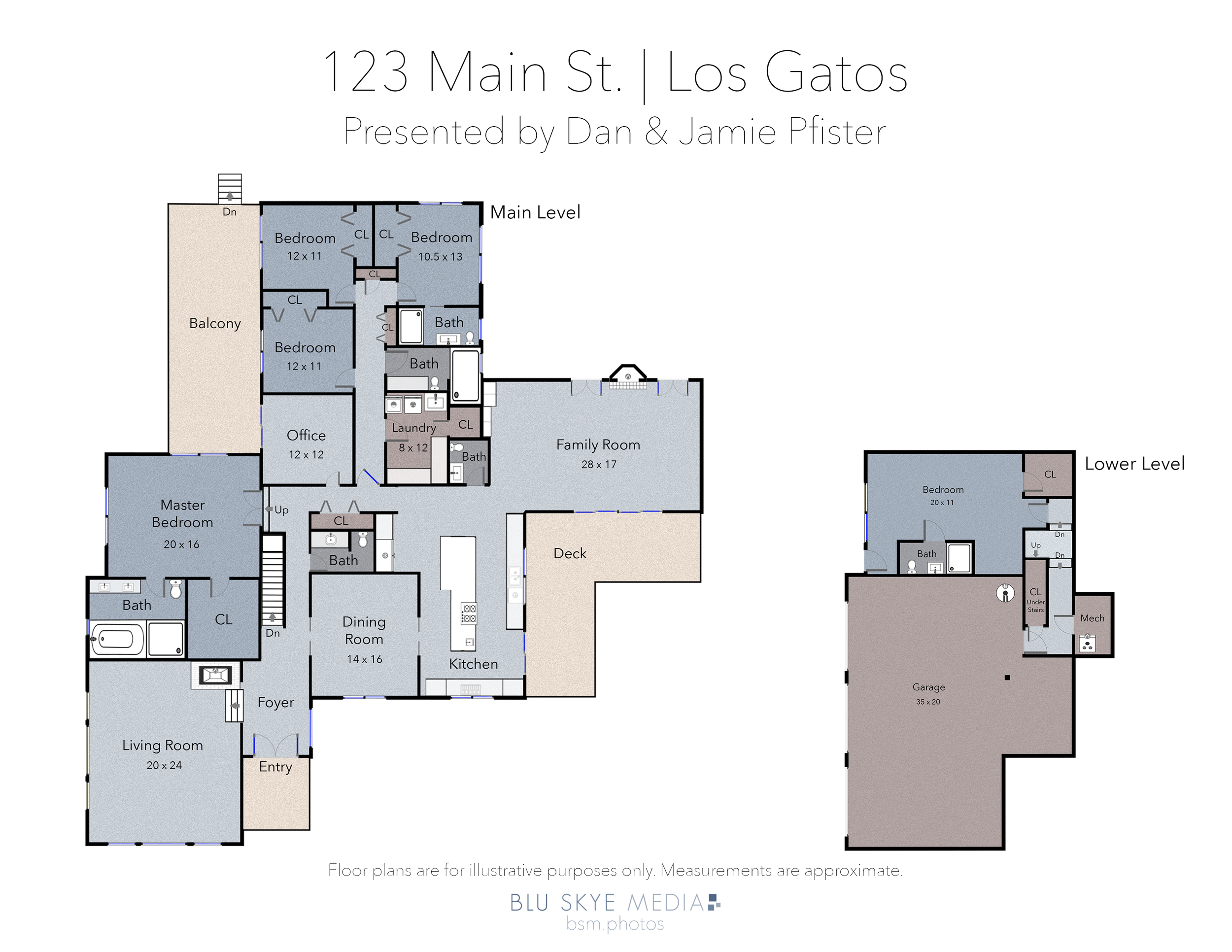 Los Gatos Floor Plan Sample