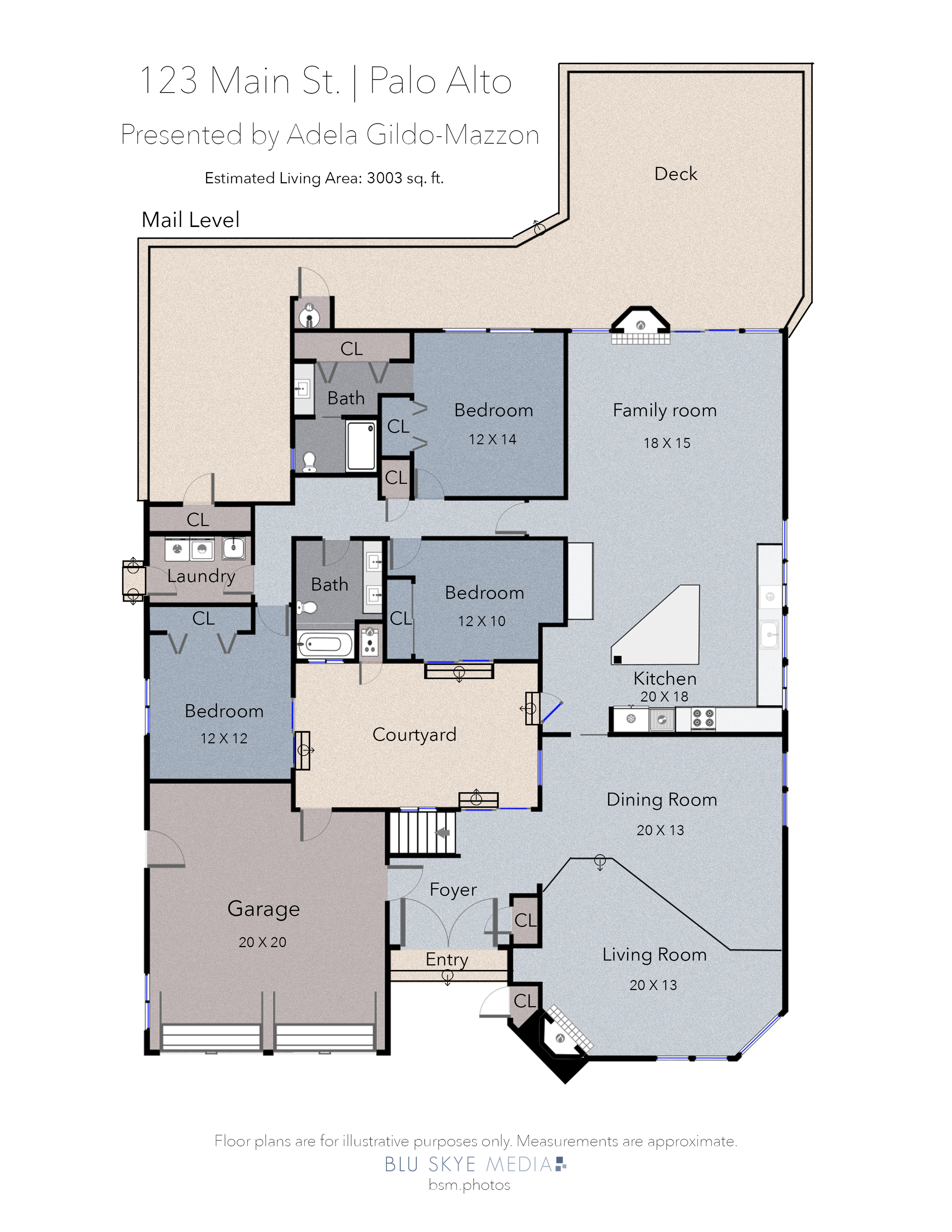 Palo Alto Floor Plan Sample