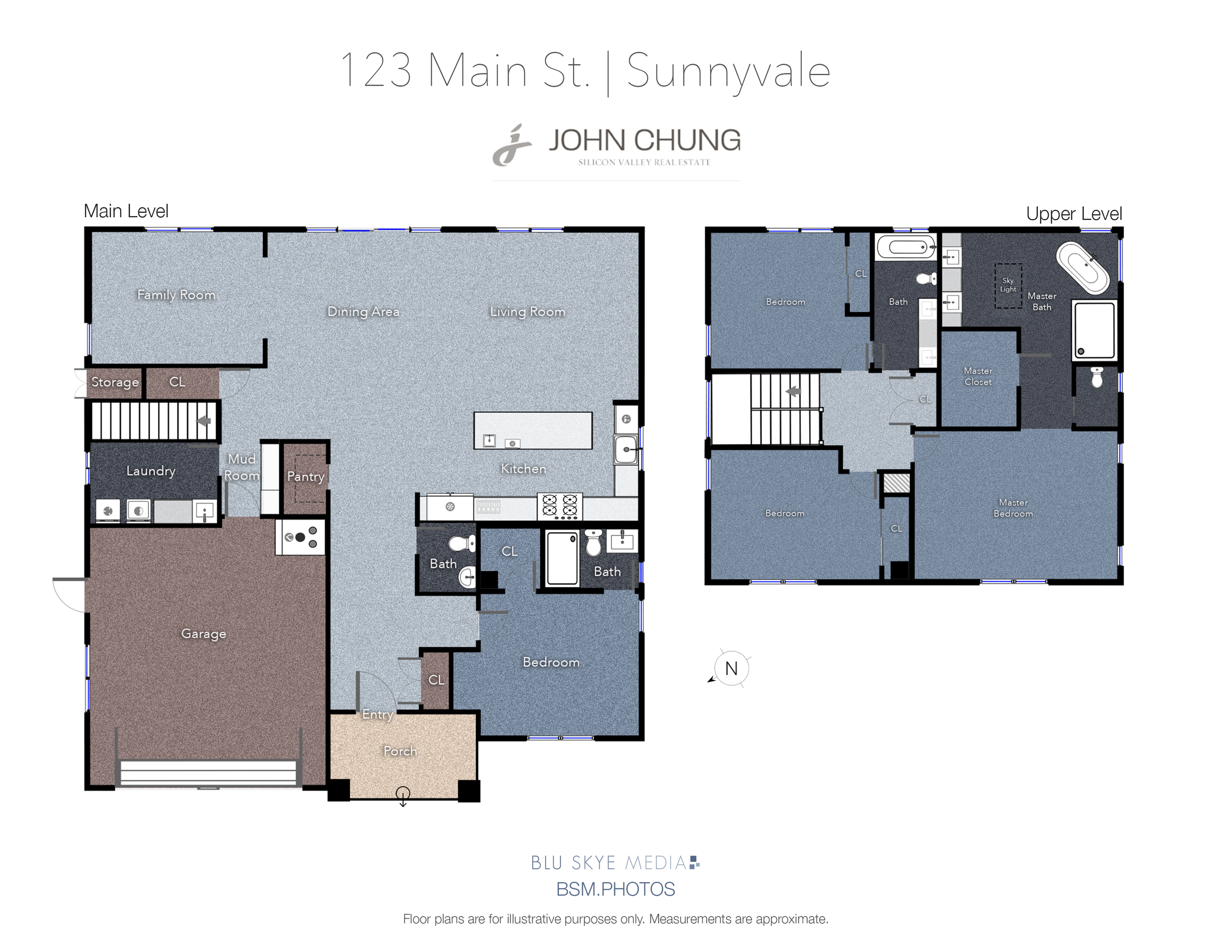 Sunnyvale Floor Plan Sample