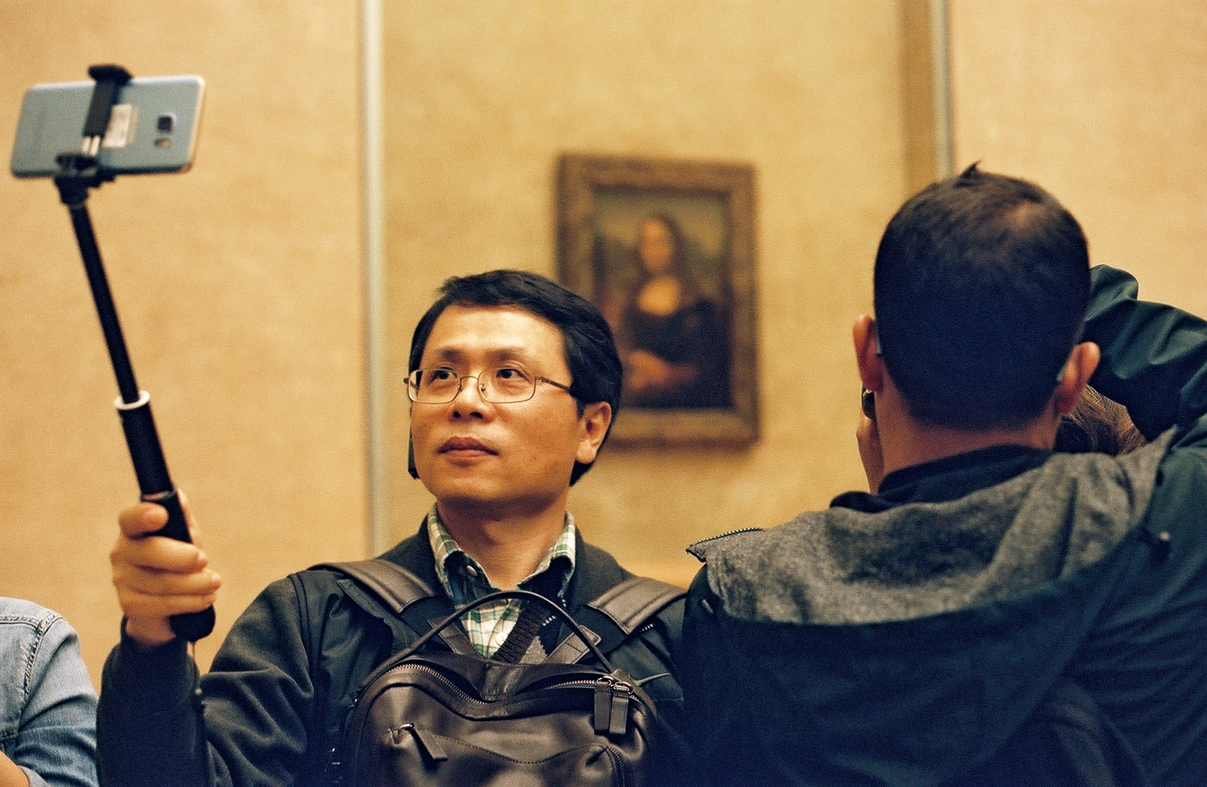 seeing the Mona Lisa is a performance piece