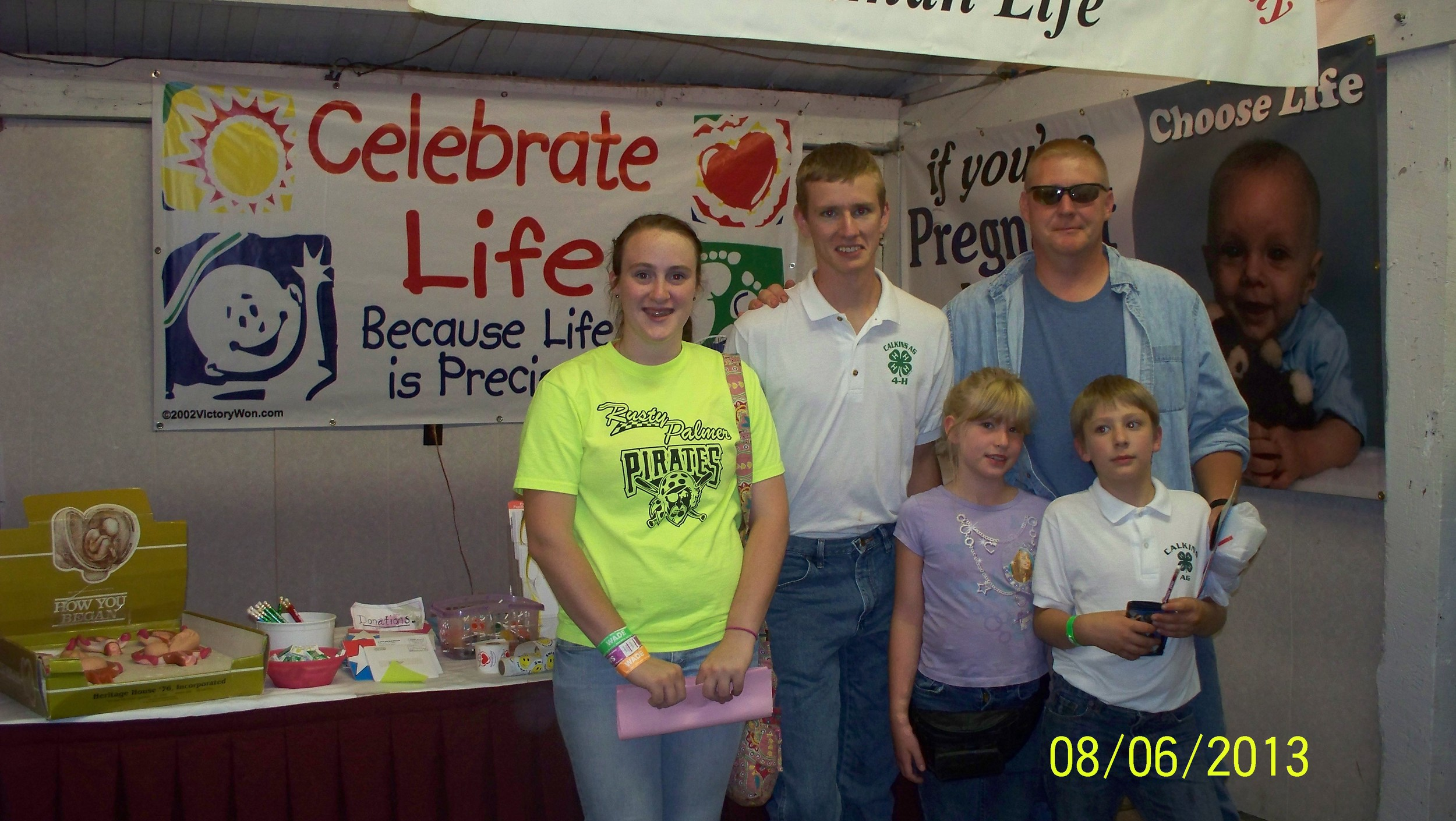 Wayne Co. Fair Pro Life booth-2013 002.JPG